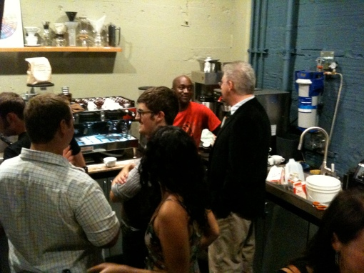 NW Barista Competitors' Meet & Greet at Visions' CEL