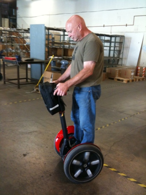 JB found the Segway and started it all.