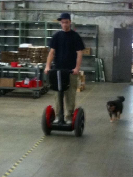 Mel tailgating Luke