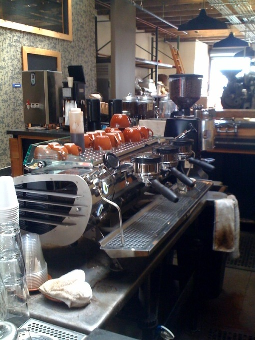 Four Barrel Coffee's Mistral