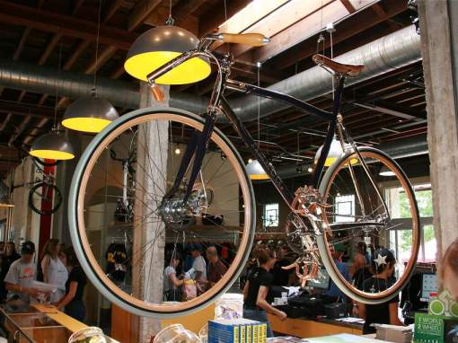 A cool custom bike from Naked Bicycle in northern British Columbia, Canada. Photo courtesy of Bikeradar.com.